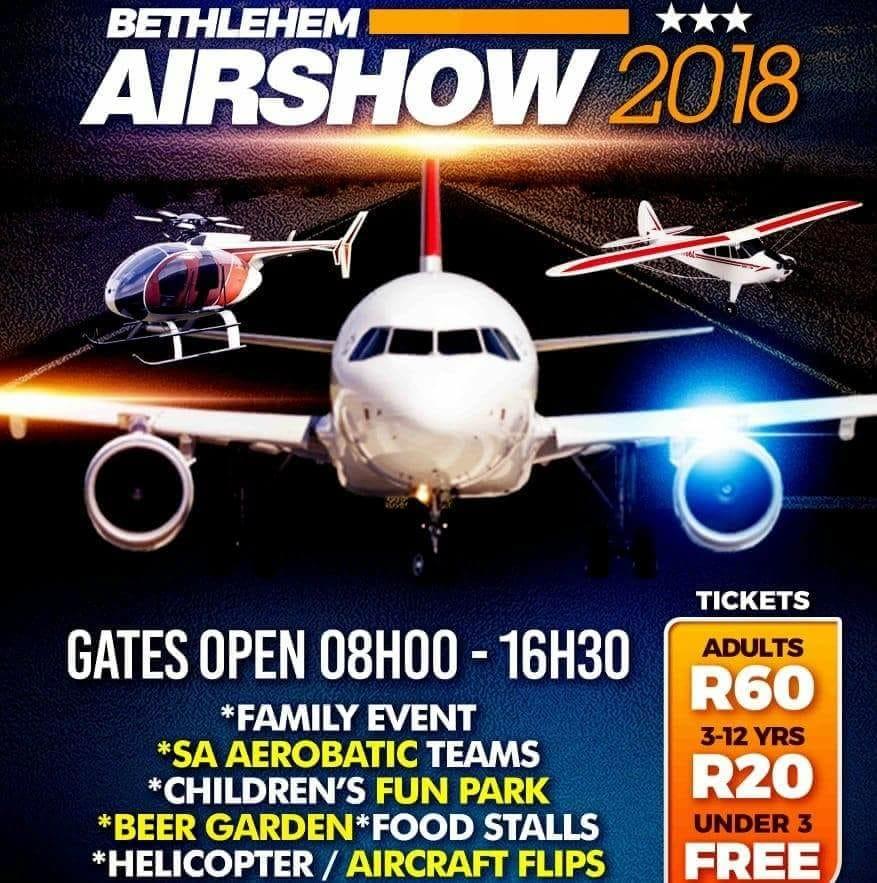 Bethlehem Airshow @ Bethlehem Aerodrome | Bethlehem | Free State | South Africa