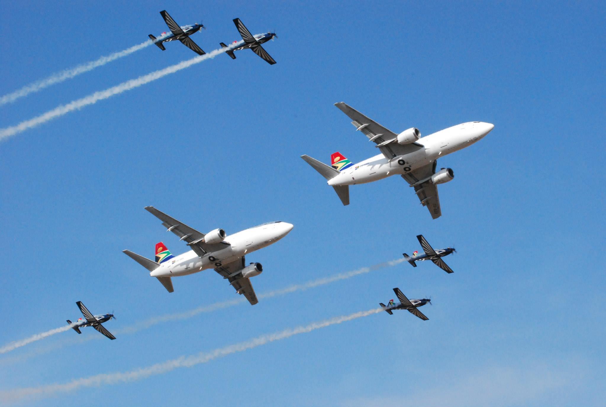 Falcons & SAA Cargo