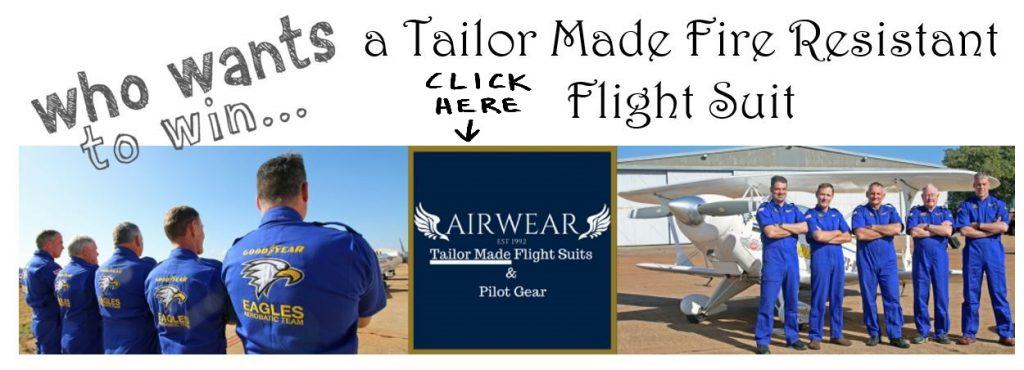 Win a Flight Suit