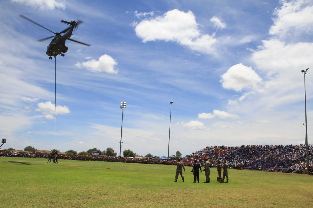 Armed Forces Day Kimberley 2018 Fan Park Launch.