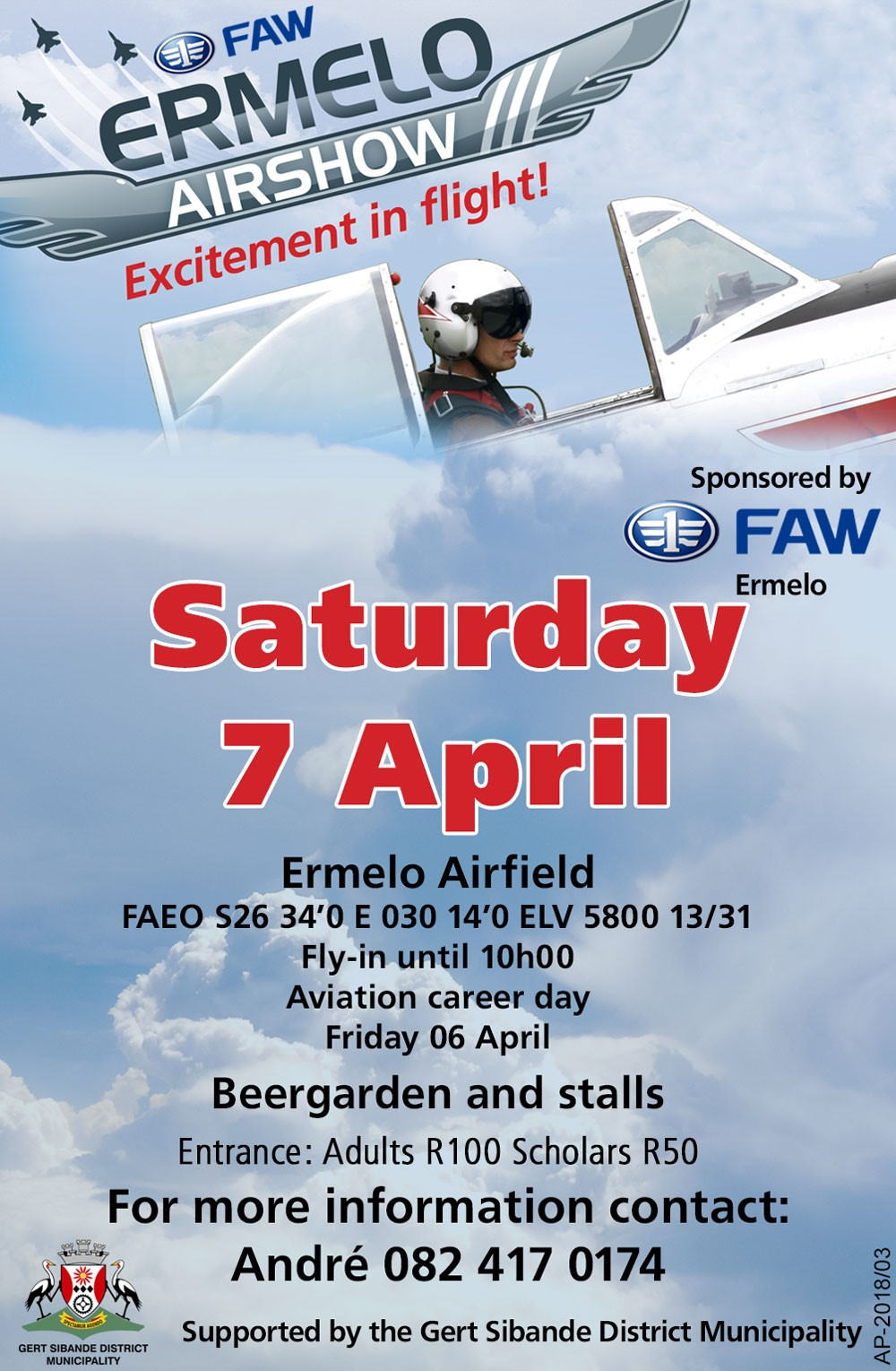 The FAW Ermelo Airshow 2018 – What to expect