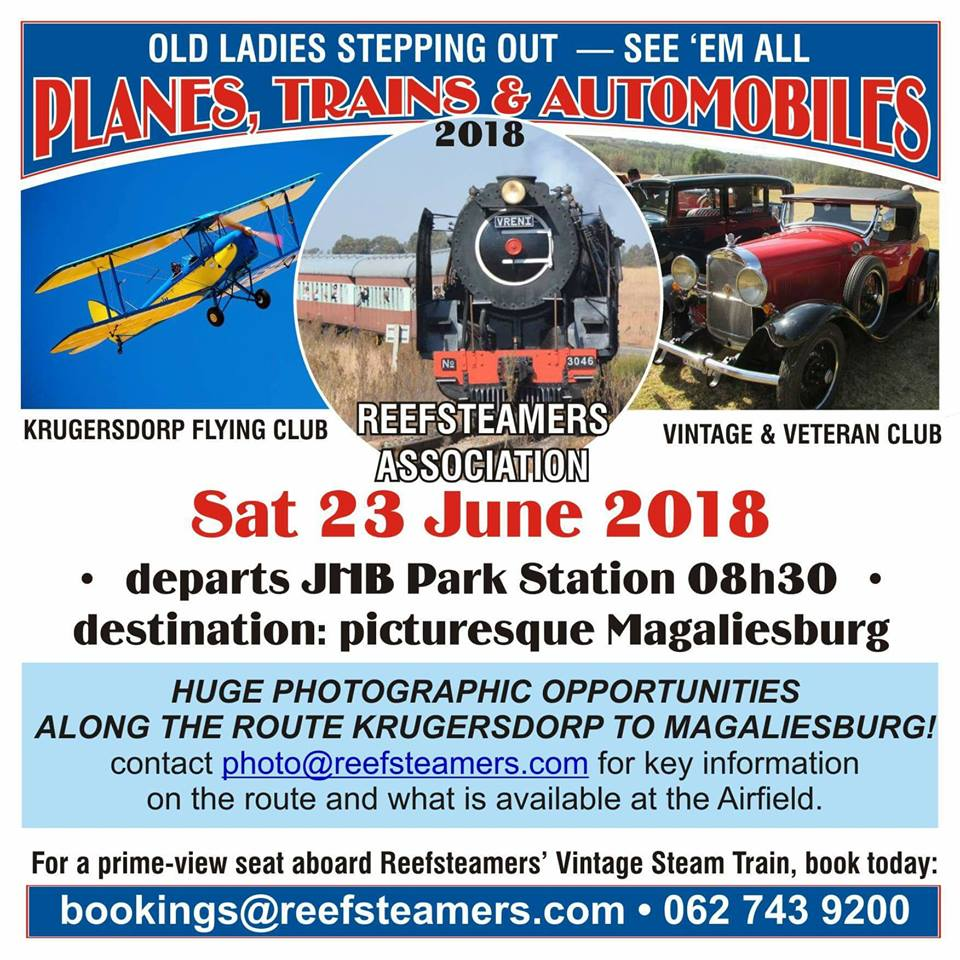 Planes Trains & Automobiles @ Magaliesburg | Magaliesburg | Gauteng | South Africa