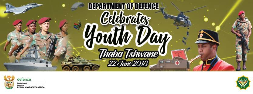 Department of Defence Youth Day Celebration 22 June 2018 @ Military Sport Club, Thaba Tshwane | Centurion | Gauteng | South Africa