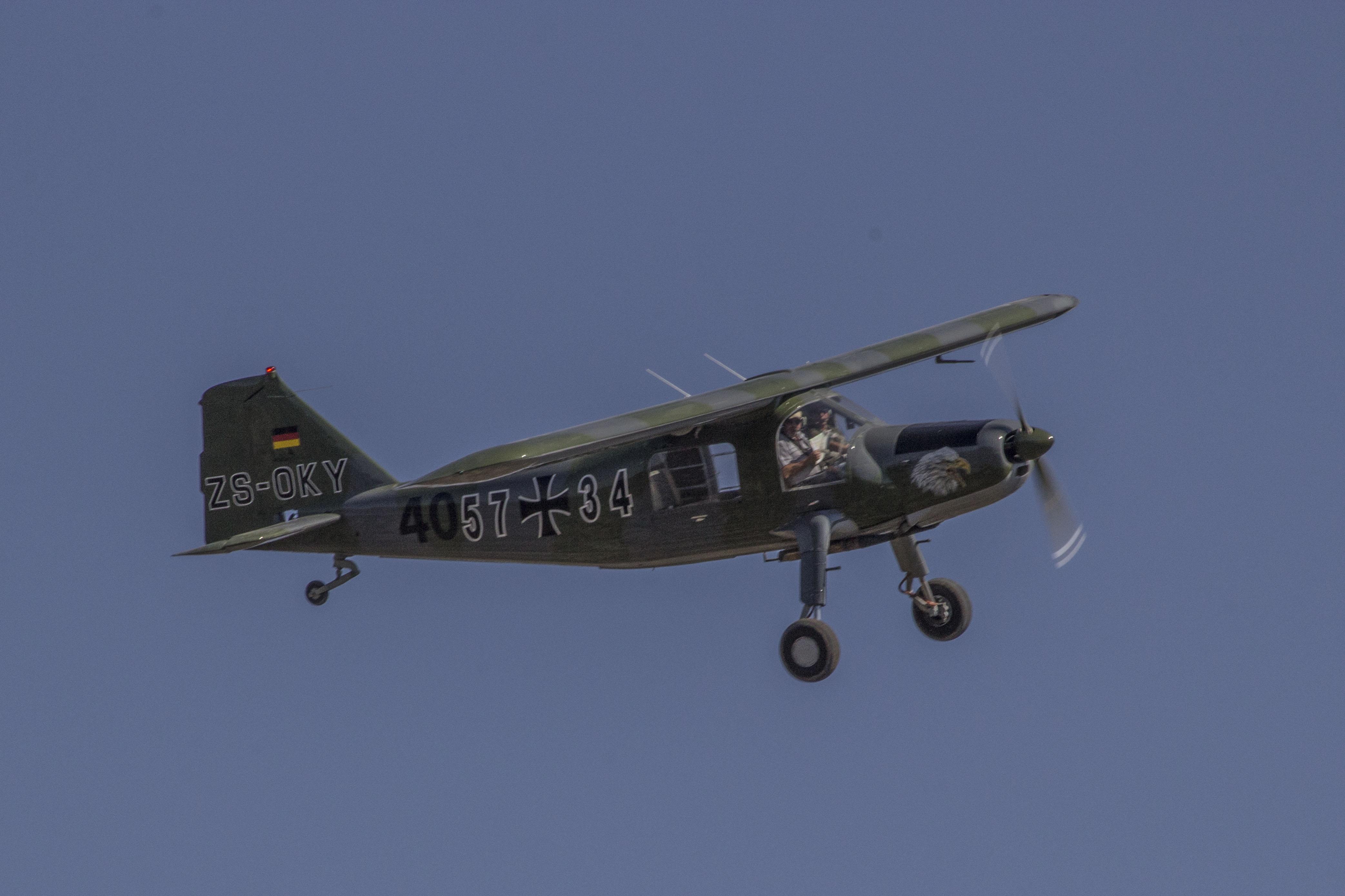Race 40  ZS-OKY  Dornier DO27A-4  Andries van Tonder  Coenraad Underhay  Gauteng  Krugersdorp Flying Club