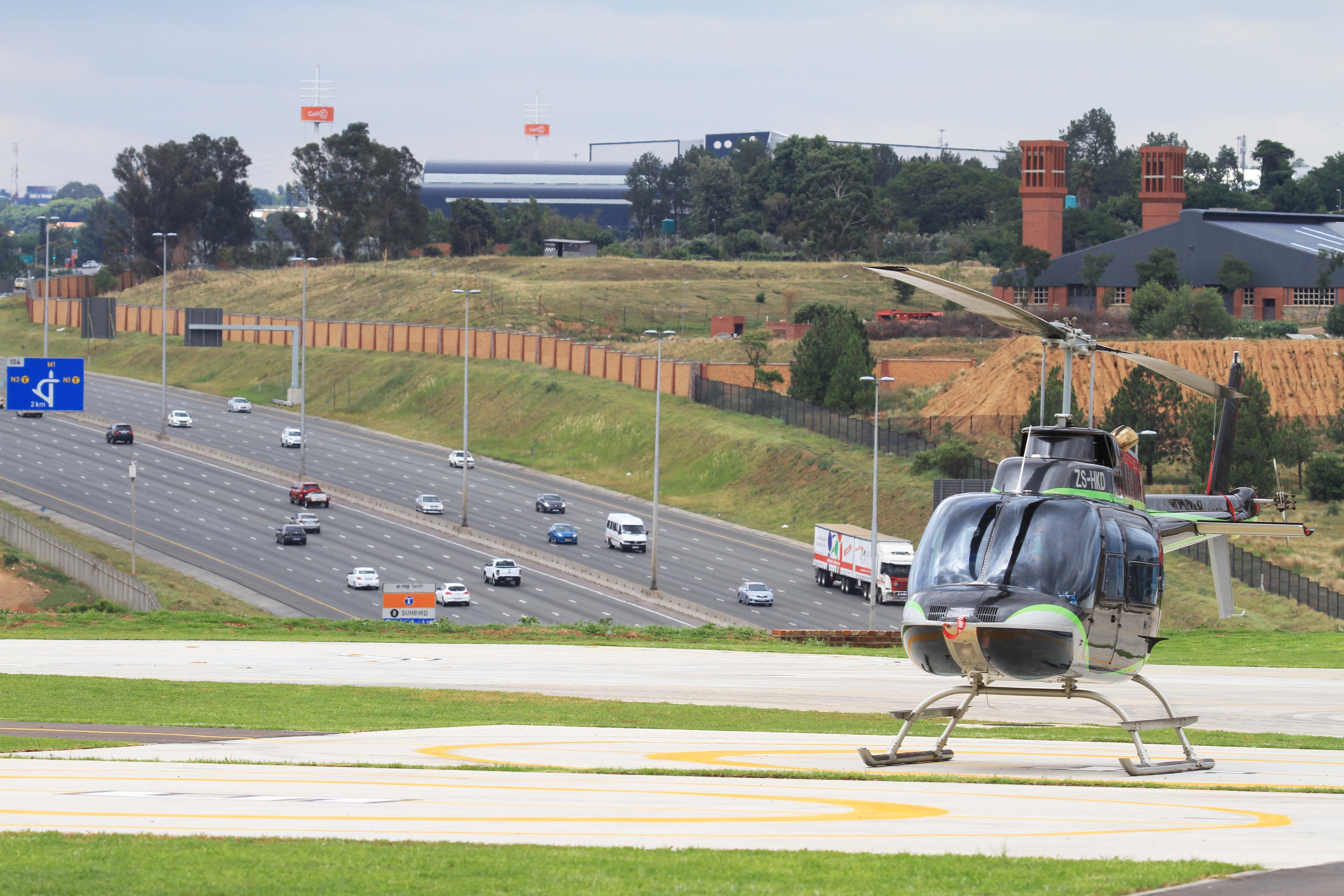 Launch Of Ultimate Heli Port Midrand