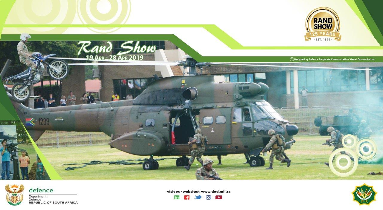 SANDF at Rand Show