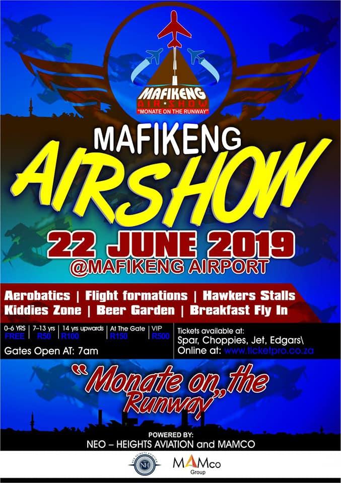 Mafikeng Airshow 2019, a sneak peek