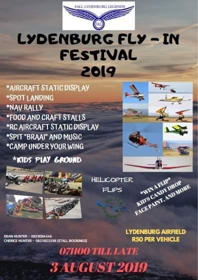 Lydenburg Fly-In Festival 2019