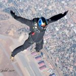 Golden Eagles Parachuting team