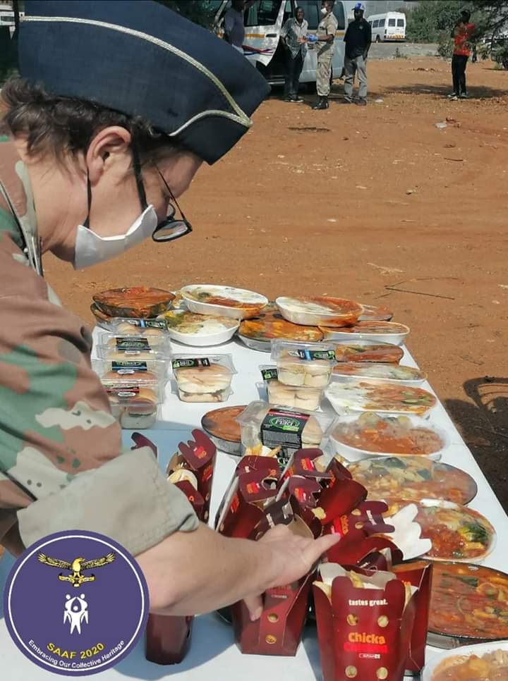 Airforce Base Waterkloof Reaches Out To South African Homeless Citizens!