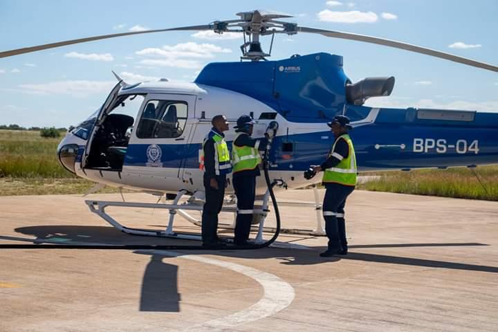 Puma Donates Aircraft Fuel to Botswana Police Service Airwing