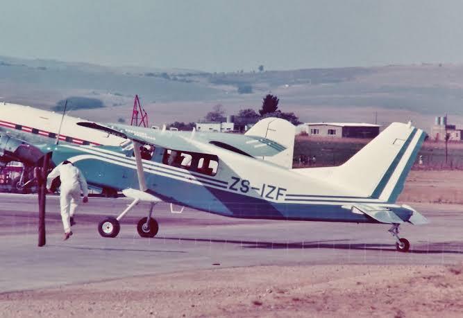 46 Years Ago-The Atlas C4M Kudu took to the skies!