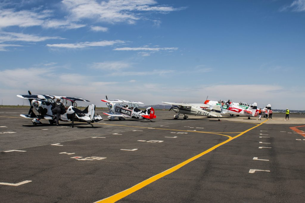 Aircraft at Rand Airport