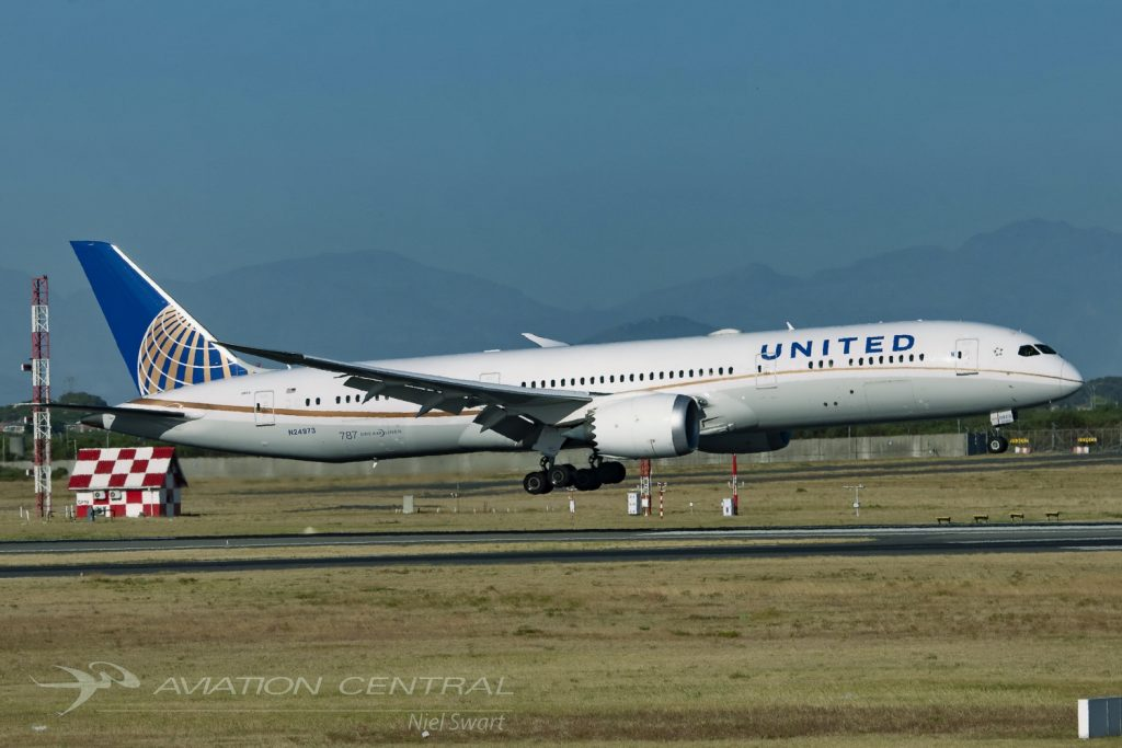 United Airlines-Touches down in Cape Town for the first time!