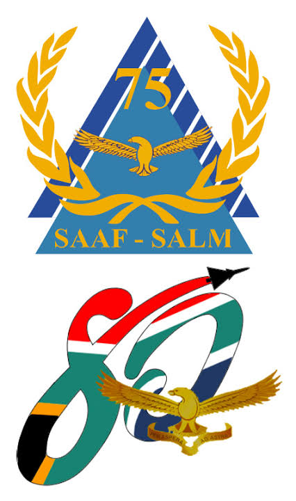 A Look back at past and present SAAF Centenary Logo's!