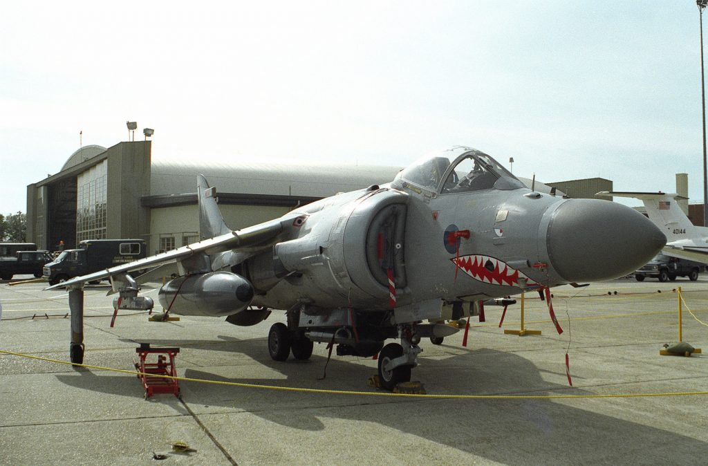 Former Royal Navy Harriers to take to the skies again!
