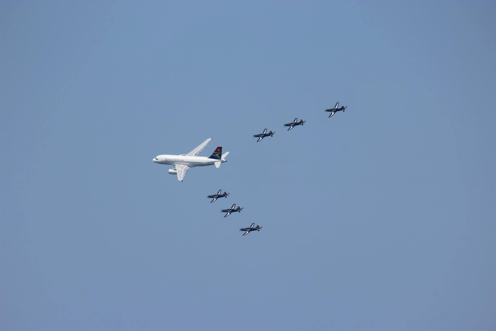 Falcons& SAA A319