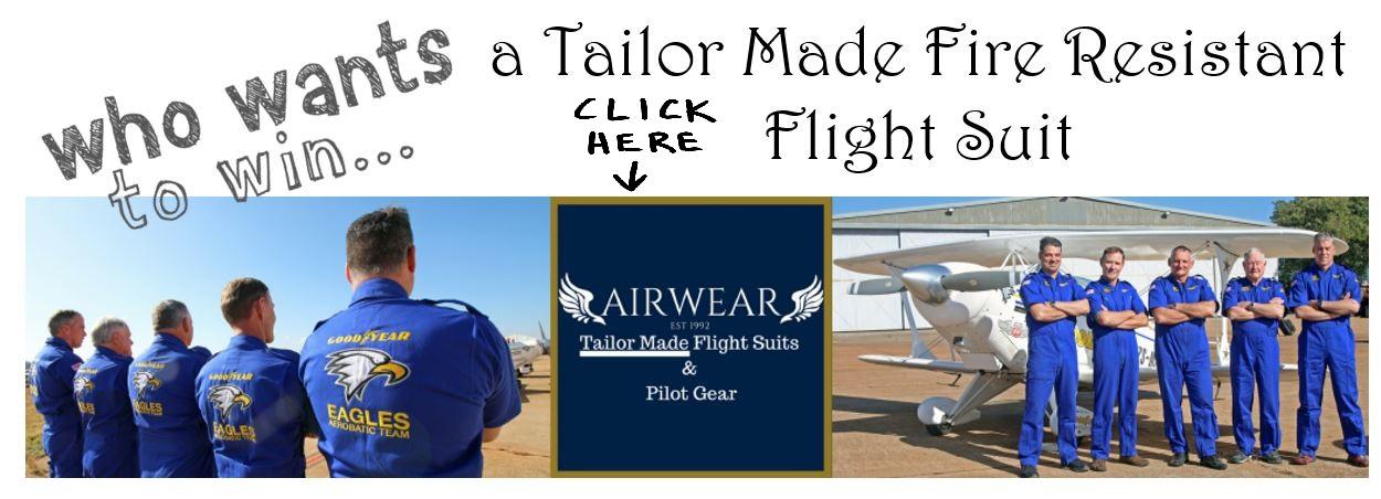 Win a Flight Suit
