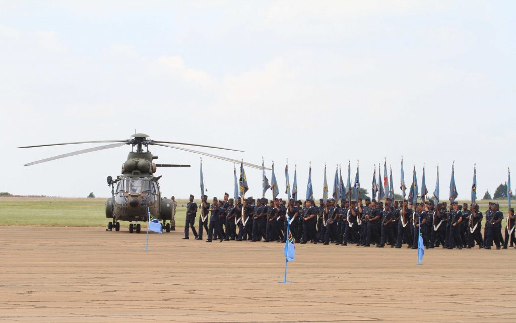 Air Force Base Zwartkop in Pretoria hosted this years Prestige day parade  with the celebration of the South African Air force (SAAF) turning 98 years  old bb6f67295c1f