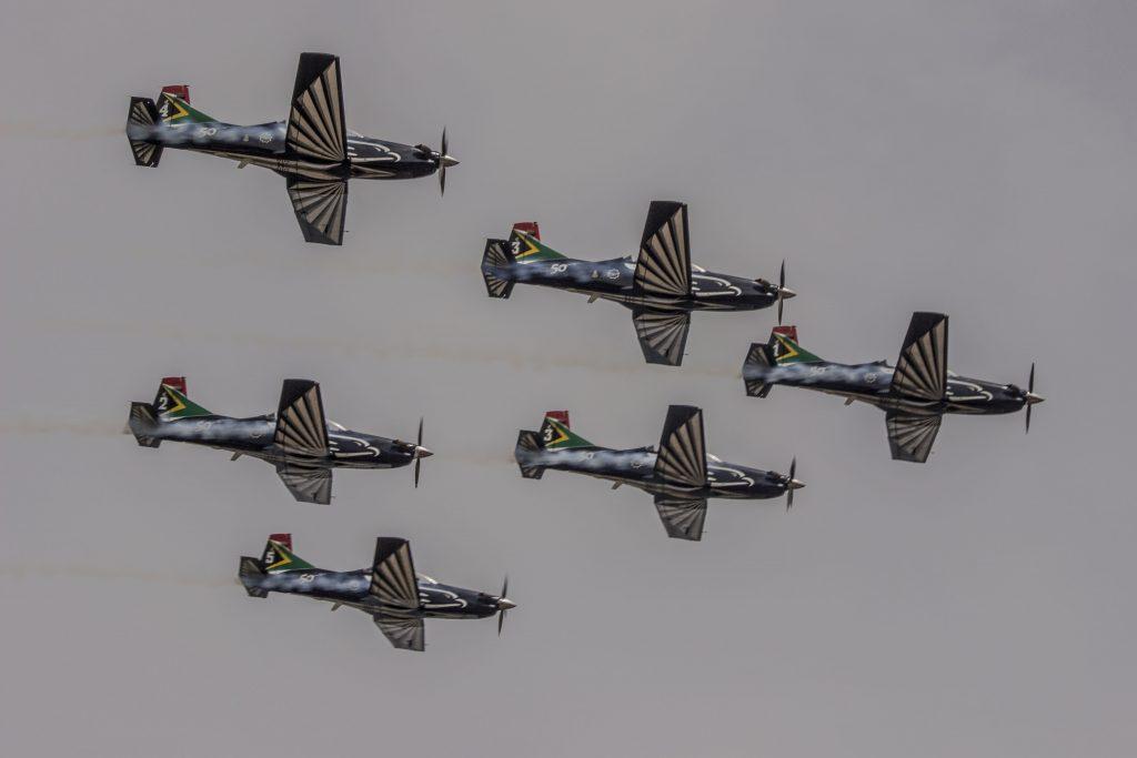 6 Ship Silver Falcons Aerobatic Team