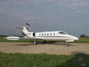 Learjet 35 RC Model