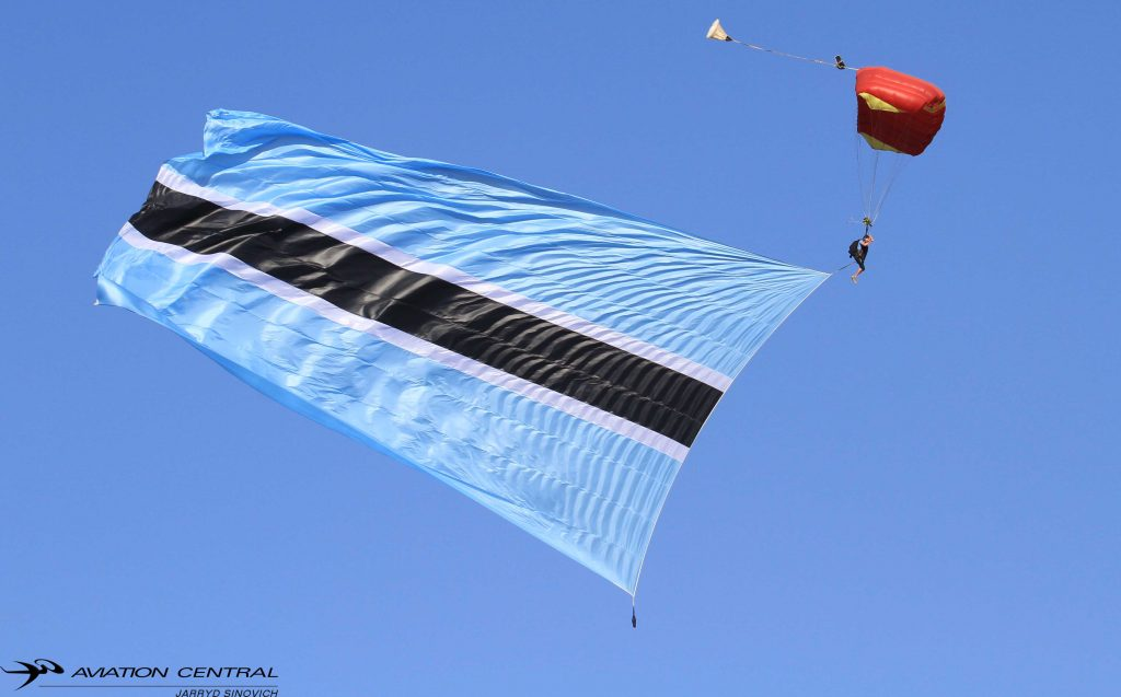 Rasesa ready for takeoff- WesBank Botswana International Airshow
