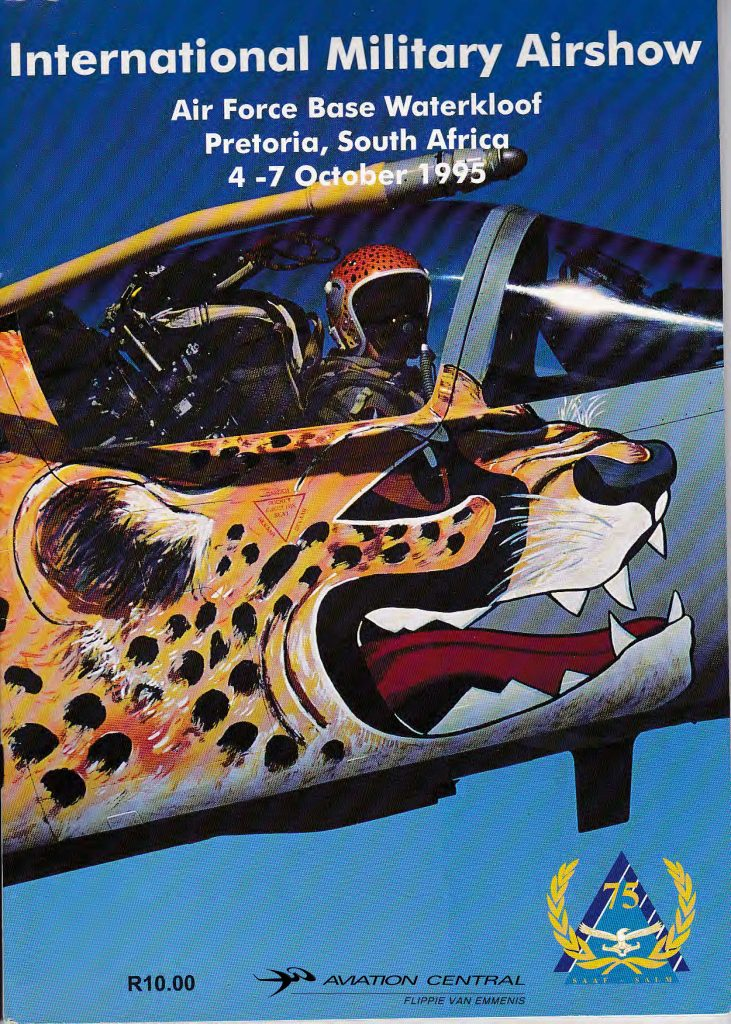 SAAF 75 Airshow Program
