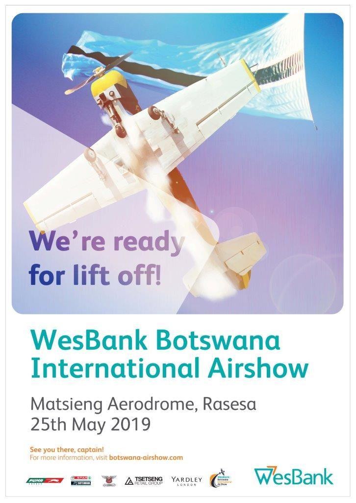2019 WesBank Airshow Poster
