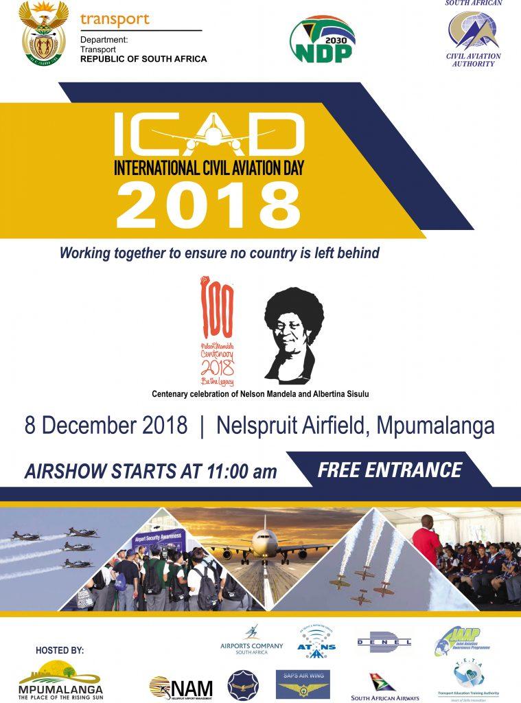 ICAD 2018 Nelspruit @ Neslpruit airport | Nelspruit | Mpumalanga | South Africa