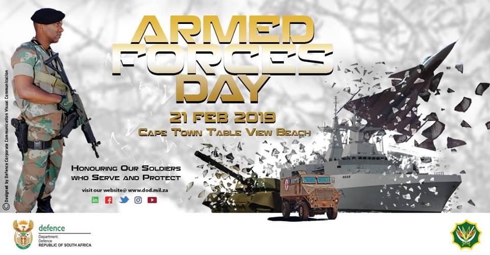 Armed Forces Day Celebration 2019 Dates