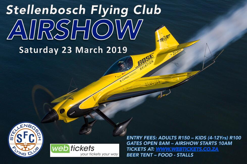 Stellenbosch Airshow 2019 What to expect