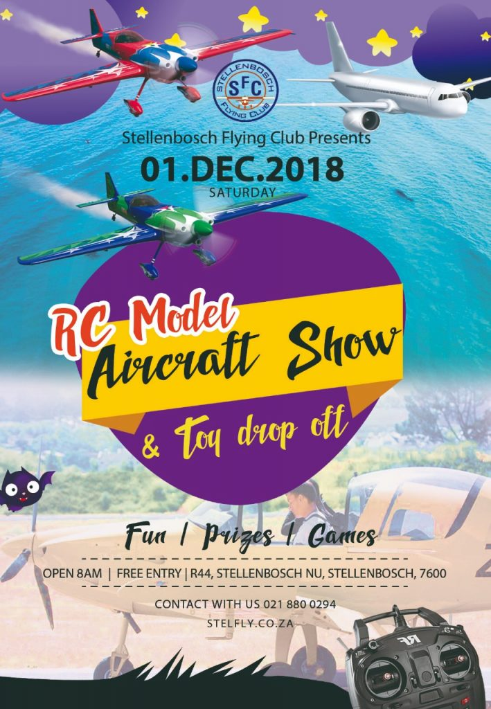 RC model Airshow & Toy drop @ Stellenbosch flying club | Stellenbosch | Western Cape | South Africa