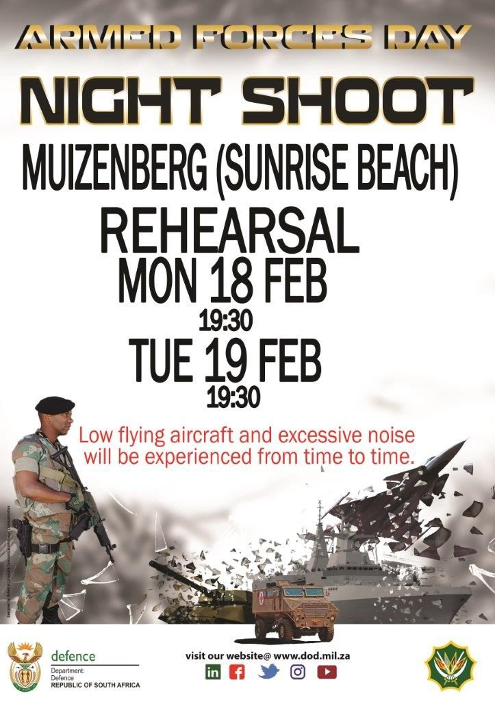 Armed Forces 2019-Night Shoot @ Muizenberg, Sunrise Beach | Cape Town | Western Cape | South Africa