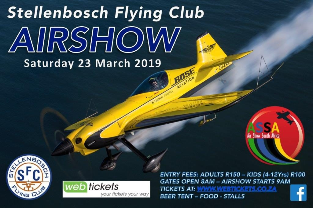 Silver Falcons Aerobatic Team Ready for the first Airshow of 2019