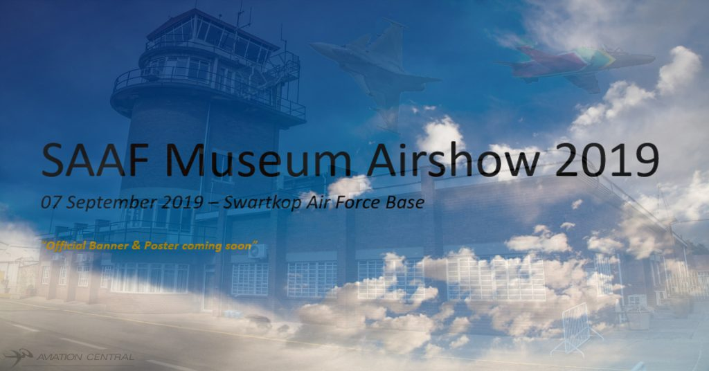 Breaking News-SAAF Museum Airshow set for 7th September 2019