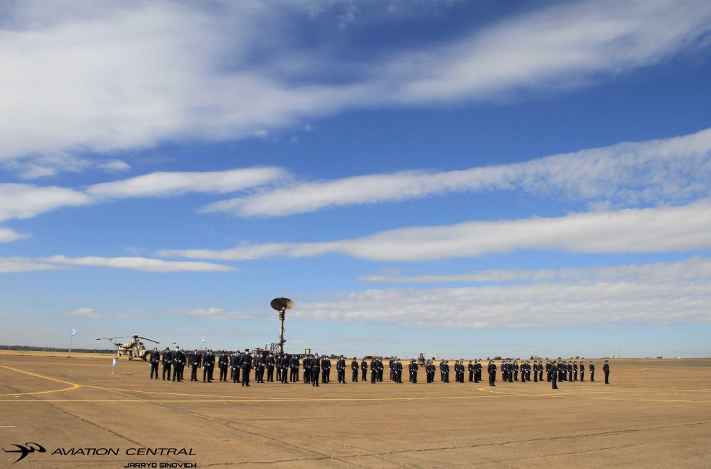 SAAF Change of Command Parade