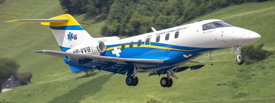 Swedish Medevac PC-24 Completes Successful Maiden Flight