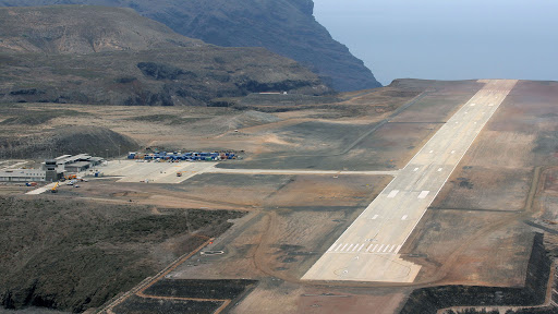 Largest aircraft to date lands at St Helena Airport