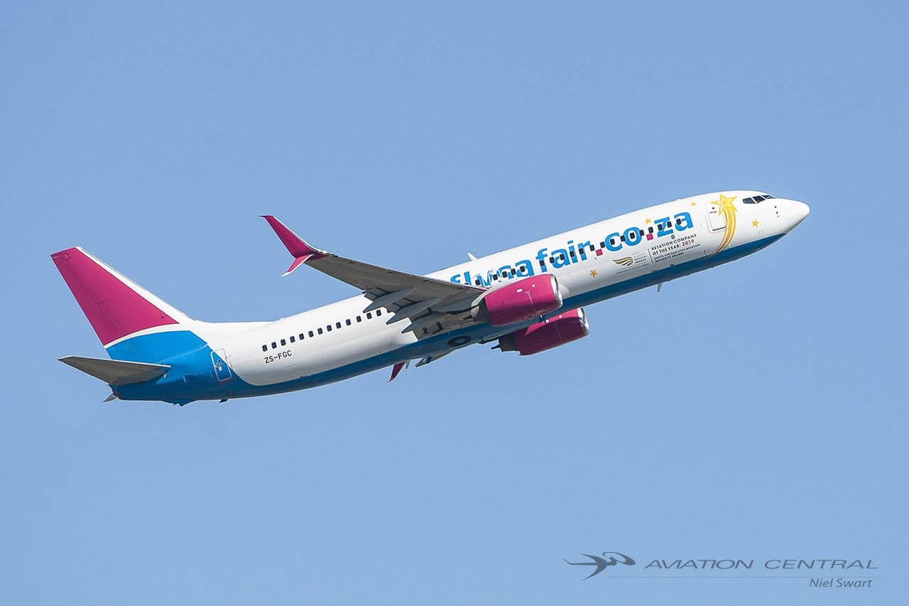 FlySafair,one of few that survived COVID
