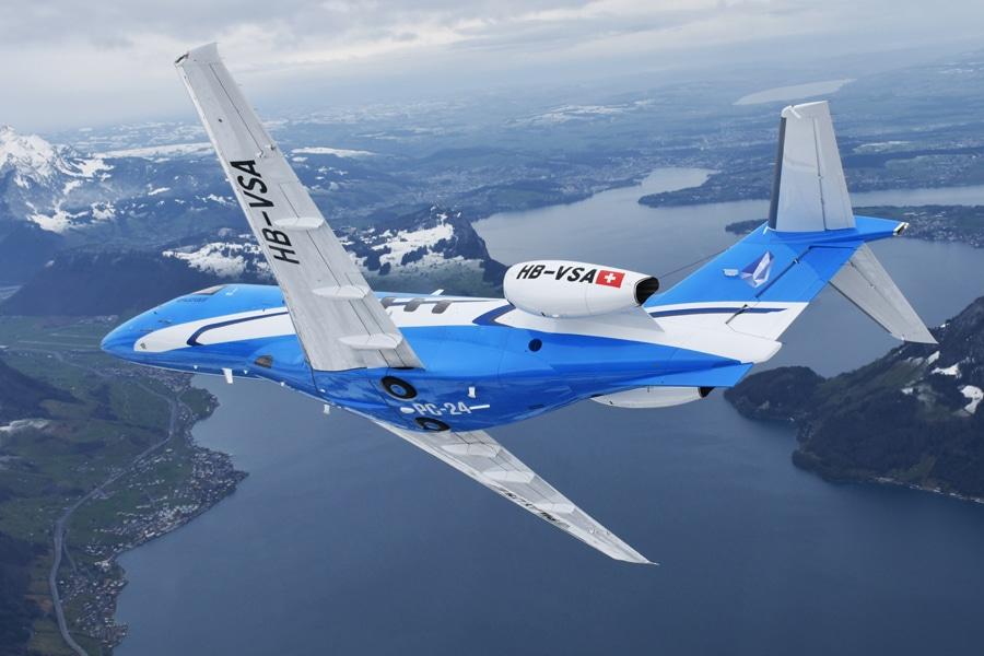 Pilatus Appoints TAG Maintenance Services as Authorised Service Centre for PC-24