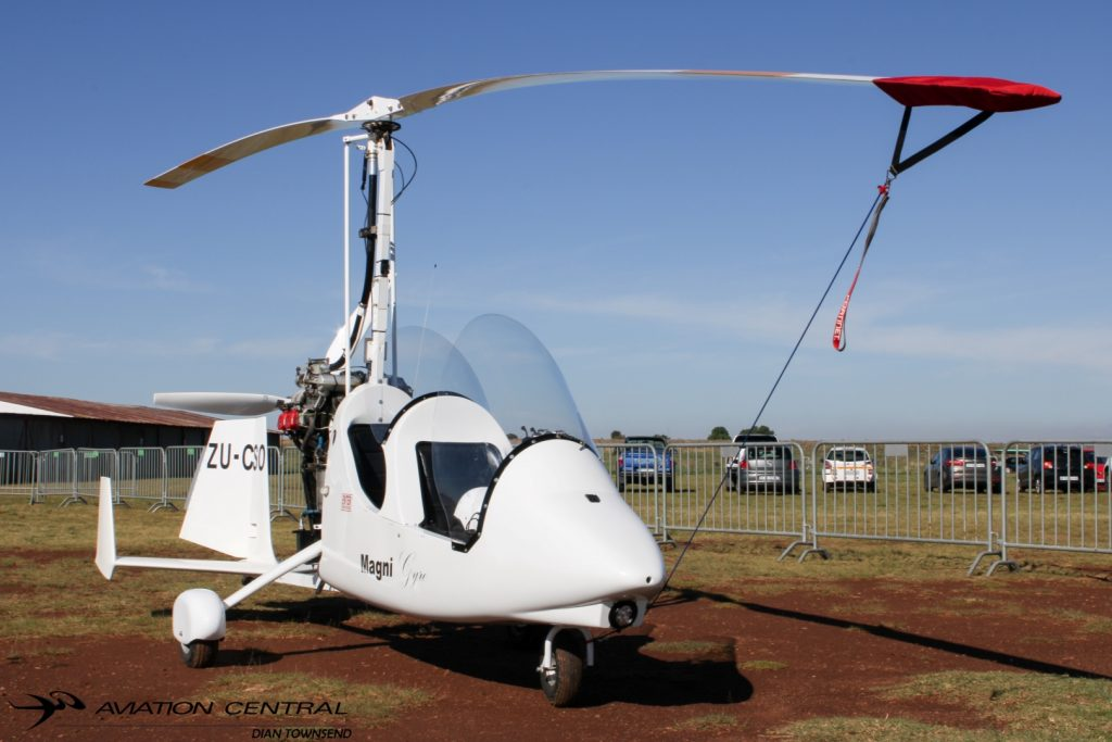 Gyrocopter Used In Local Crime Fighting