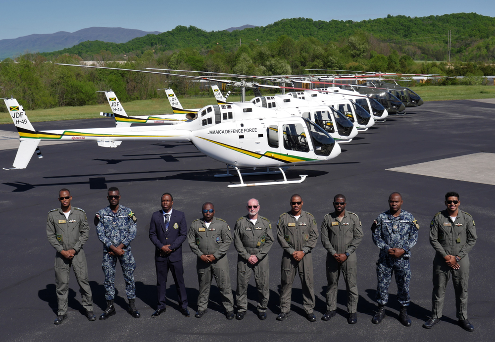 Bell Announces Delivery of 300 th Bell 505 Jet Ranger X