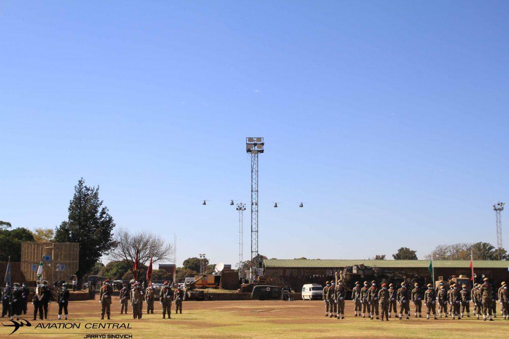 Outgoing SANDF General Solly Shoke Parade