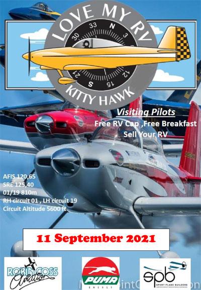 The Kittyhawk Van's RV fly-in 2021